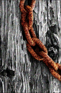 chains rusted