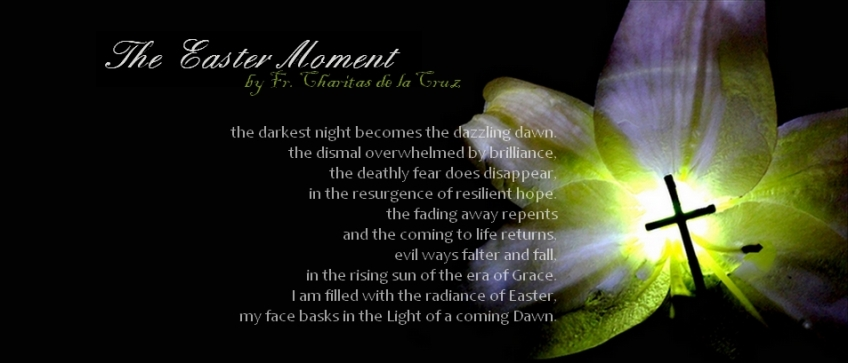 Easter Moment poem