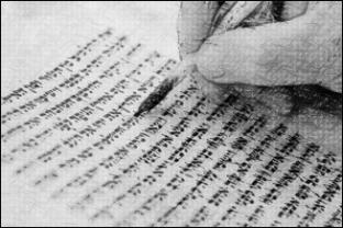 writing manuscipt