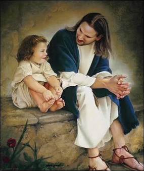 cHRIST AND A cHILD