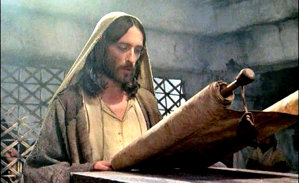 cHRIST rEADING FROM A SCROLL