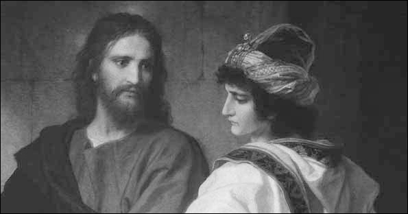 christ and rich young ruler