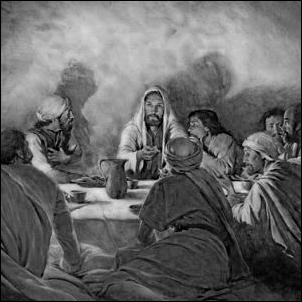 cHRIST IN UPPER ROOM