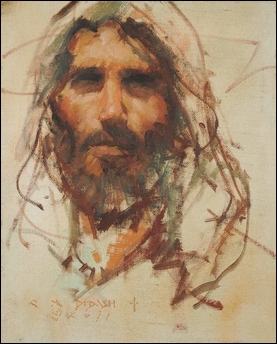 cHRIST portrait