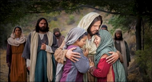 jesus and martha
