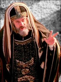 priest mocking christ