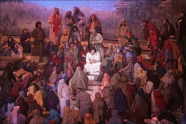 cHRIST TEACHING PARABLES